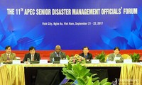 APEC : Clôture de la conférence sur la gestion des catastrophes naturelles