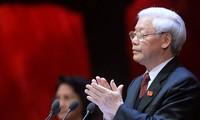 Nguyen Phu Trong travaille avec le comité du Parti pour Ho Chi Minh-ville