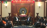 Nguyen Thien Nhan reçoit Ted Yoho
