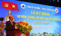 Le 50ème anniversaire de la fondation du comité du Parti de la zone spéciale de Quang Da