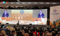 Poursuite du sommet des chefs d'entreprises de l'APEC