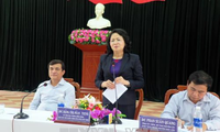 Dang Thi Ngoc Thinh au chevet des habitants de Quang Nam
