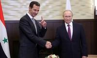 Lutte contre le terrorisme : Vladimir Poutine « félicite » le président syrien Bachar Al-Assad