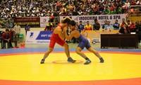 Ouverture du championnat de lutte traditionnelle et libre d'Asie du Sud-Est