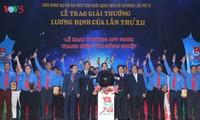 86 jeunes ruraux reçoivent le prix Luong Dinh Cua 2017