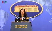 Conférence de presse du ministère des Affaires étrangères