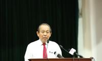 Conférence sur la lutte contre la contrebande dans les provinces frontalières du Sud-Ouest