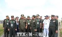 Le vice-Premier ministre cambodgien visite Binh Phuoc