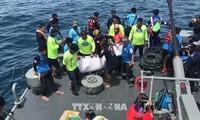 Au moins 42 morts dans le double naufrage en Thaïlande
