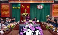 Phó chủ tịch Quốc hội Nguyễn Thị Kim Ngân làm việc tại tỉnh Lâm Đồng