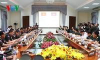 Việt Nam-Campuchia tăng cường hợp tác giữa quân đội hai nước