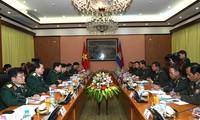 Quốc vụ khanh Bộ Quốc phòng Campuchia thăm Việt Nam
