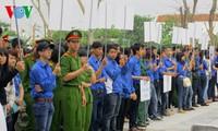 Miền Trung khởi động tháng Thanh niên tình nguyện 2015