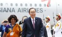 Chủ tịch nước Trương Tấn Sang hội kiến với Tổng thư ký Liên hợp quốc Ban Ki-moon