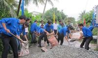 Đoàn TNCS Hồ Chí Minh ra quân chiến dịch thanh niên tình nguyện hè năm 2015