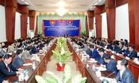 Khai mạc Hội nghị Hợp tác an ninh và phòng chống tội phạm Việt Nam - Lào