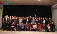 Hội sinh viên Việt Nam tại Grenoble tổ chức thành công đại hội
