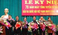 Hà Giang tổ chức kỷ niệm 70 năm Ngày Tổng tuyển cử đầu tiên