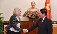 Việt Nam luôn coi trọng phát triển quan hệ hữu nghị, hợp tác với Đan Mạch