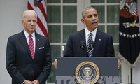 President Obama calls for peaceful transition of power