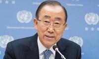 联合国秘书长潘基文暗示可能竞选韩国总统