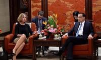 China, EU hold strategic dialogue