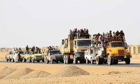 A thousand migrants rescued in the Niger desert