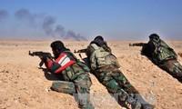 Syrian army lays a siege to Al-Qaryatayn town