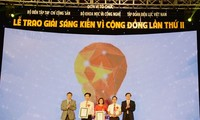 Outstanding community innitiatives awarded