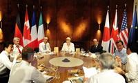 В Германии прошел первый день работы саммита «Большой семерки»