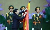 Президент СРВ присутствовал на церемонии вручения звания «Герой труда» Армейскому банку