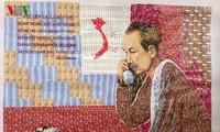 Художник До Лень Туан – автор живых картин из марок