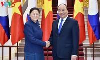 Дальнейшее укрепление отношений особой солидарности между Вьетнамом и Лаосом