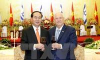 Чан Дай Куанг: Вьетнамо-израильское сотрудничество выйдет на новый виток развития