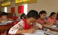 Класс кхмерского языка в центре города Кантхо