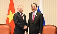 Президент СРВ Чан Дай Куанг начал официальный визит в Россию