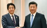 Лидеры Японии и Китая на полях саммита G20 обсудили двусторонние отношения