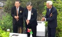 Церемония поминовения вьетнамских солдат-коммунистов, погибших в тюрьме Фукуок