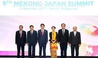 Нгуен Суан Фук принял участие в 9-м саммите Меконг-Япония и саммите АСЕАН-ООН