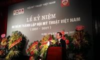 Общество изобразительных искусств Вьетнама отмечает свое 60-летие