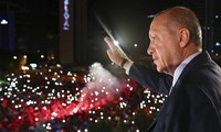 Путин поздравил Эрдогана с переизбранием на пост президента Турции