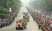 La presse internationale couvre les obsèques nationales du général Giap