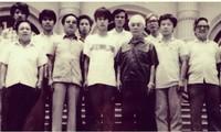 Exposition :Le général Vo Nguyen Giap avec la jeunesse de la capitale
