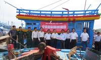 La Voix du Vietnam accompagne les pêcheurs au large