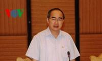 Le président du Front de la Patrie visite Quang Ninh