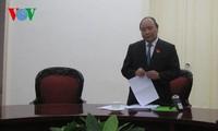Nguyen Xuan Phuc préside une réunion sur le guichet unique