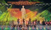 Le président Truong Tan Sang au 70ème anniversaire de l'armée à Cao Bang