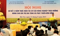 Bilan de 2 ans de restructuration agricole