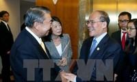 Nguyen Sinh Hung rencontre le président de la Chambre basse japonaise
