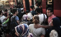 Allemagne: 400 migrants arrivent de Hongrie